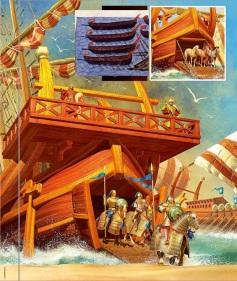 Nikephoros II's Byzantine Cataphracts invade Crete, 961