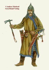 Magyar (Hungarian) warrior