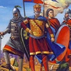 Emperor Basil II and the Varangians