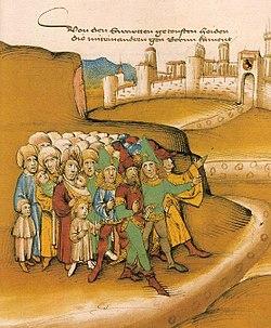 Gypsies in a medieval manuscript