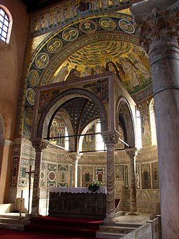 Sample Byzantine altar canopy