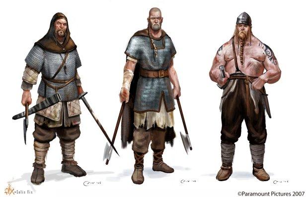 Geat warriors of Sweden