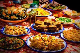 Arabic food samples