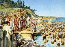 Baptism of the Rus people under Vladimir I, 988