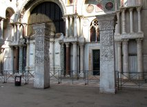 Venice, Pillars of Acre from Constantinople