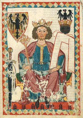 Holy Roman Emperor Heinrich VI (r. 1191-1197), son of Frederick I