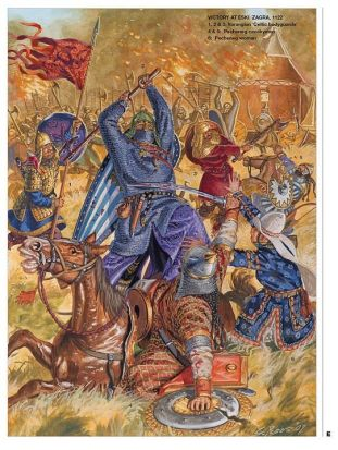 Varangian Guard attacks a Pecheneg