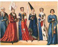 Medieval English women's fashion