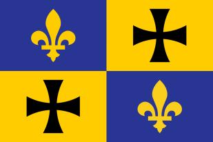 Flag of the Frankish Kingdom (Francia)