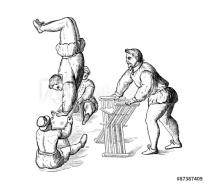 Acrobats in training