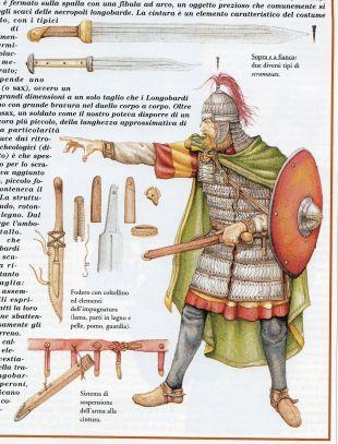Lombard warrior