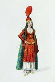 Ottoman woman, 15th century