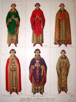 Latin clergy variants