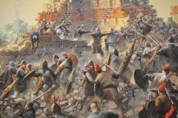 Avars and Slavs attack Constantinople's walls