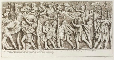 Dacians depicted in Trajan's Column, Rome