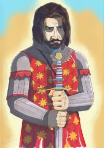 "Alexios I Komnenos as a Byzantine general ""Megas Domestikos"""
