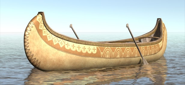 Sample of an Indian boat