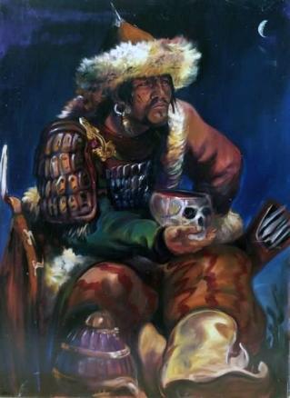 Attila, King of the Huns (r. 434-453)