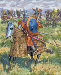 Byzantines at the Battle of Dyrrachion