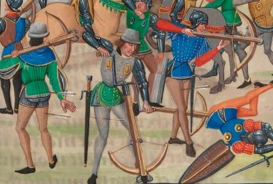 Genoese crossbow mercenaries