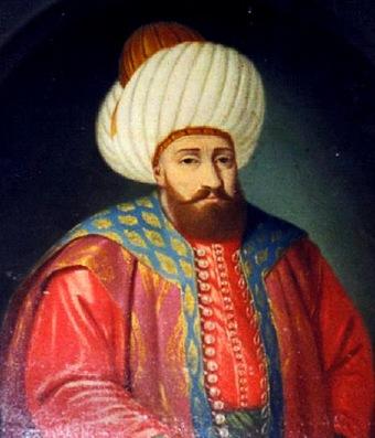 Ottoman Sultan Bayezid I (r. 1389-1402)