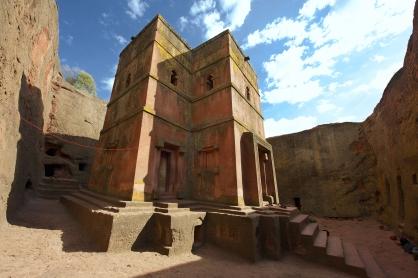 Ancient Christian site in Ethiopia