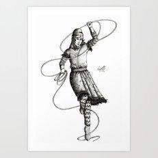 """Scythian """"Wonder Woman"""" with a lasso"""