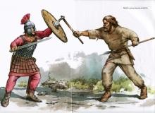 Byzantine (left) vs Slav (right)