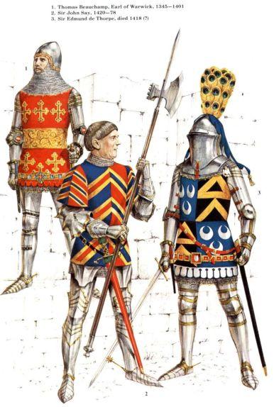 15th century English knights