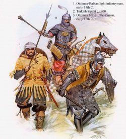 Ottoman Turkish army, 15th century