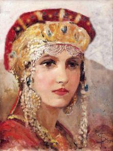 Anna Porphyrogenita, wife of Prince Vladimir, sister of Basil II and Constantine VIII