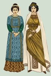Byzantine female dress