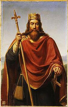 Clovis I, first king of the Frankish Kingdom (r. 481-511)
