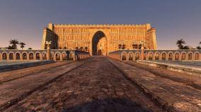 Reconstruction of Ctesiphon, capital of the Sassanids