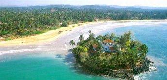 Present day Taprobane Island, Sri Lanka