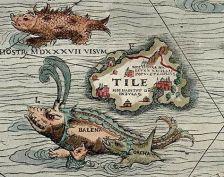 Legendary island of Thule