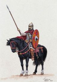 Mounted Frankish solider
