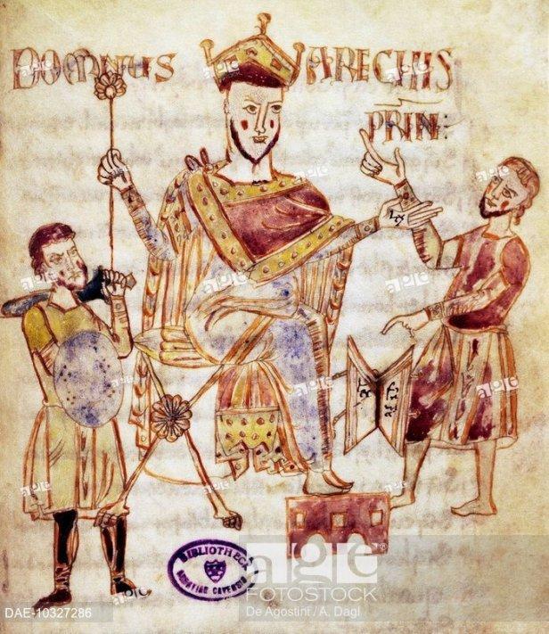 Arechis II, Lombard duke of Benevento