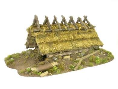 Sample Slavic hut