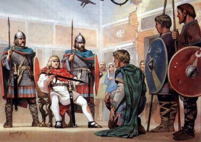 King Odoacer of Italy (r. 476-493) in Ravenna
