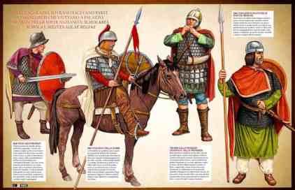 Carolingian Frankish soldiers