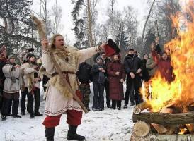 Present day Slavic festival
