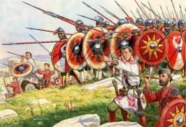Late Roman phalanx formation