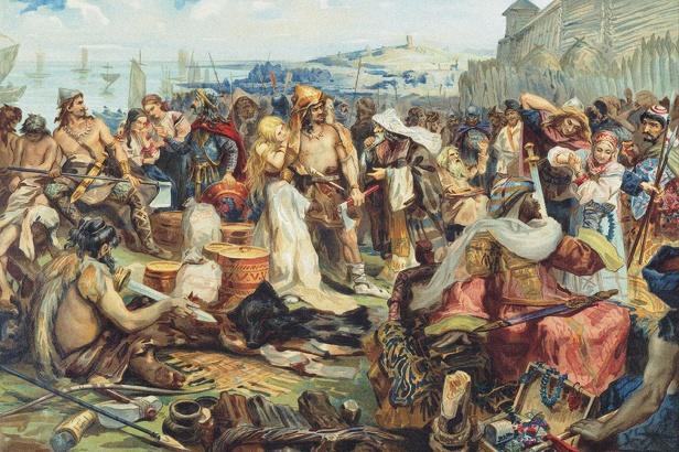 Slavs used as slaves