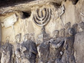 The Menorah in the Arch of Titus, Rome