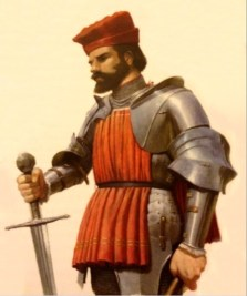 Giovanni Giustiniani Longo, Genoese general in the 1453 fall of Constantinople