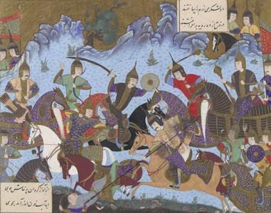 Hephthalites in Oriental art