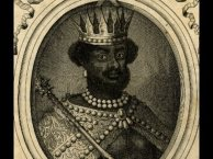 Medieval depiction of an Ethiopian king