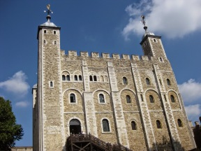 Tower of London, Norman architecture, constructed under William I in 1078