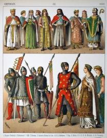 Medieval German people and armies